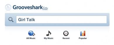 Grooveshark Lite